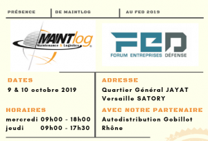 Maintlog au FED 2019